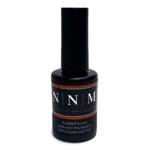 Rubber база для натуральных коротких ногтей 11 мл NNM
