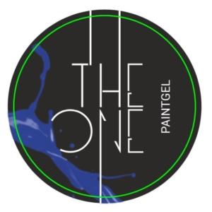 Гель-краска для дизайна ногтей, аэропуфинга и росписи СИНИЙ 5гр. TheOne