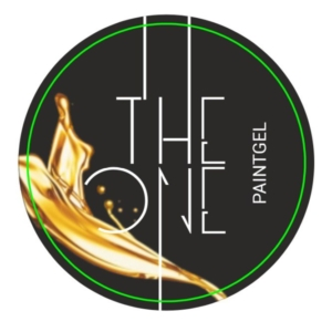 Гель-краска для дизайна ногтей, аэропуфинга и росписи ЗОЛОТО 5гр. TheOne