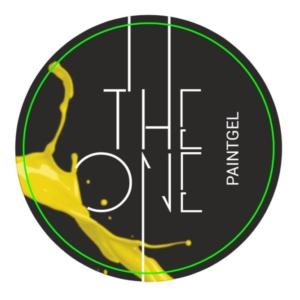 Гель-краска для дизайна ногтей, аэропуфинга и росписи ЖЕЛТЫЙ 5гр. TheOne