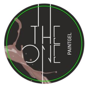 Гель-краска для дизайна ногтей, аэропуфинга и росписи БЕЖЕВЫЙ 5гр. TheOne