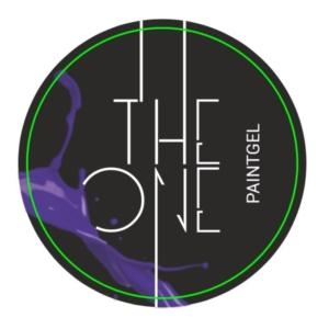 Гель-краска для дизайна ногтей, аэропуфинга и росписи ФИОЛЕТОВЫЙ 5гр. TheOne