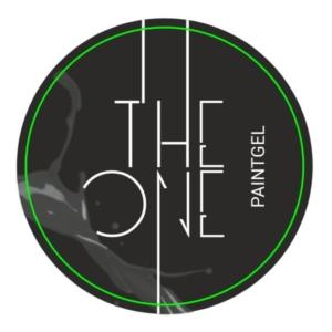 Гель-краска для дизайна ногтей, аэропуфинга и росписи ЧЕРНЫЙ 5гр. TheOne