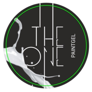 Гель-краска для дизайна ногтей, аэропуфинга и росписи БЕЛЫЙ 5гр. TheOne