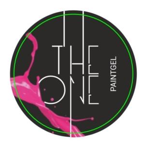 Гель-краска для дизайна ногтей, аэропуфинга и росписи РОЗОВЫЙ 5гр. TheOne
