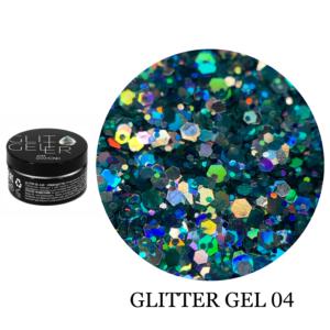 Гель Glitter-4 5гр
