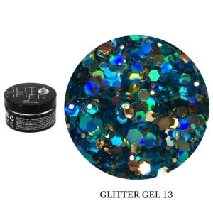 Гель Glitter-13 5гр