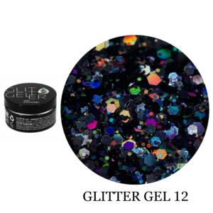 Гель Glitter-12 5гр