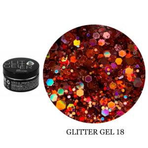 Гель Glitter-18 5гр