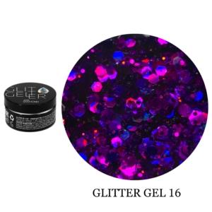 Гель Glitter-16 5гр