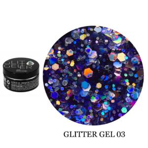 Гель Glitter-3 5гр
