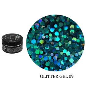 Гель Glitter-9 5гр