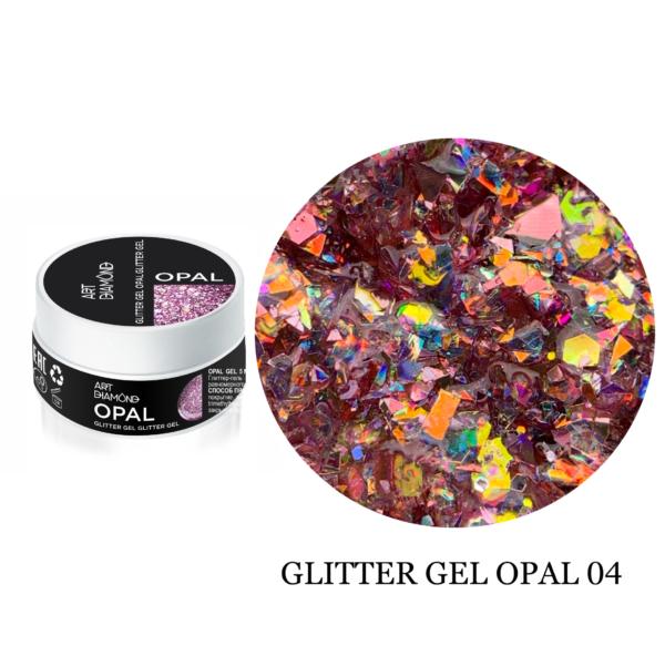 Гель Glitter Opal-4 5гр