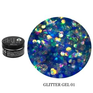 Гель Glitter-1 5гр