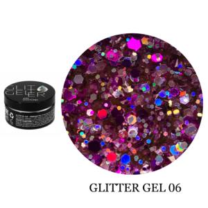 Гель Glitter-6 5гр