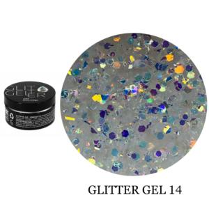 Гель Glitter-14 5гр